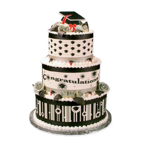 graduation cake stickers