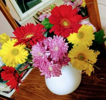 Flowers from Sophia!
