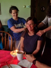 Birthday backrub!