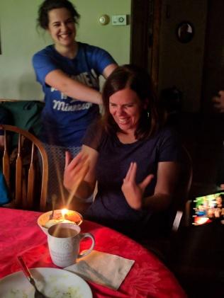 The birthday fun!