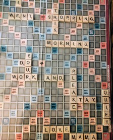 Scrabble codes and playing Taboo might get us through the winter