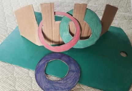 Cardboard Ring Toss